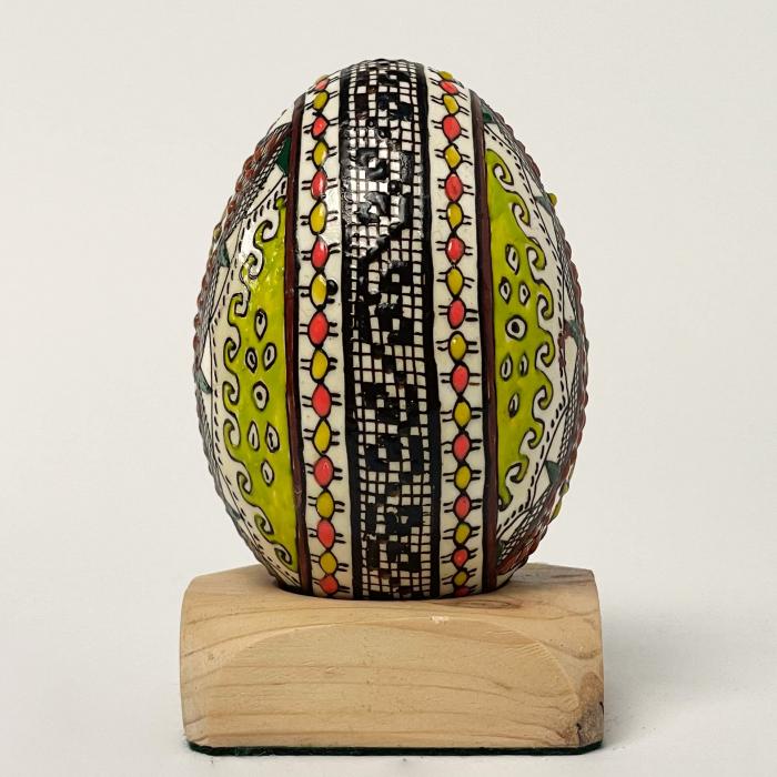Ou de gâscă încondeiat model 17 1