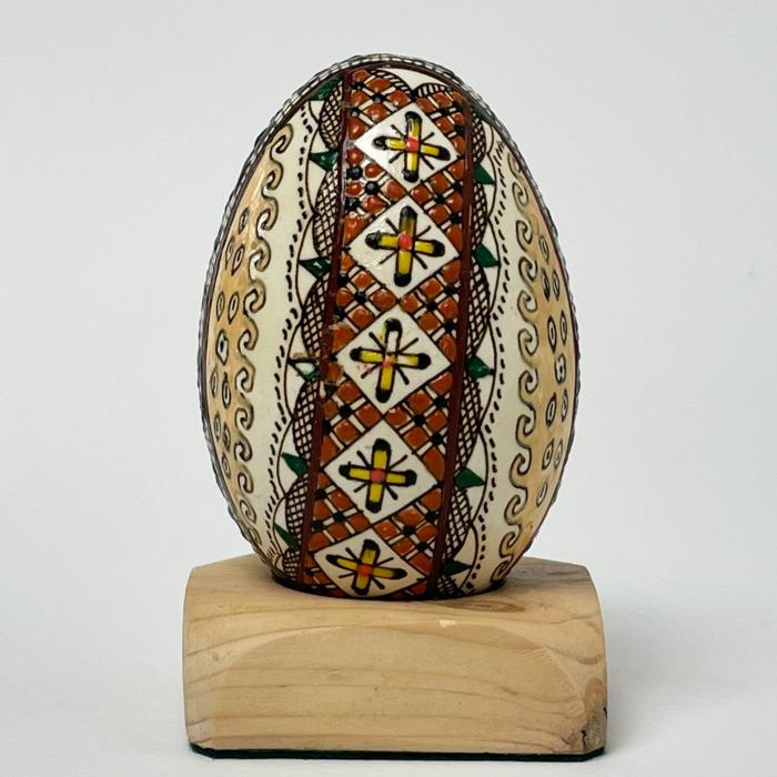 Ou de gâscă încondeiat model 18 0
