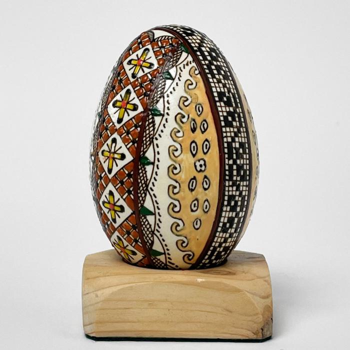 Ou de gâscă încondeiat model 18 1