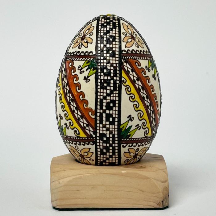 Ou de gâscă încondeiat model 19 0