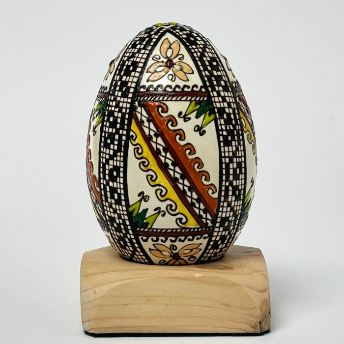 Ou de gâscă încondeiat model 19 1