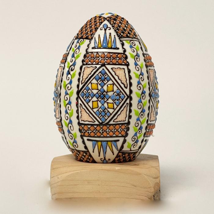 Ou de gâscă încondeiat model 2 [0]