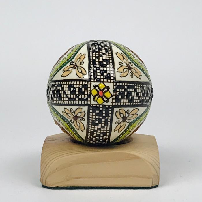 Ou de gâscă încondeiat model 23 [2]