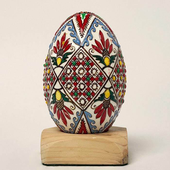 Ou de gâscă încondeiat model 4 1
