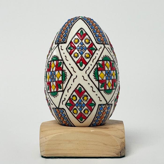 Ou de gâscă încondeiat model 5 1