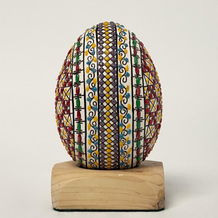 Ou de gâscă încondeiat model 7 1