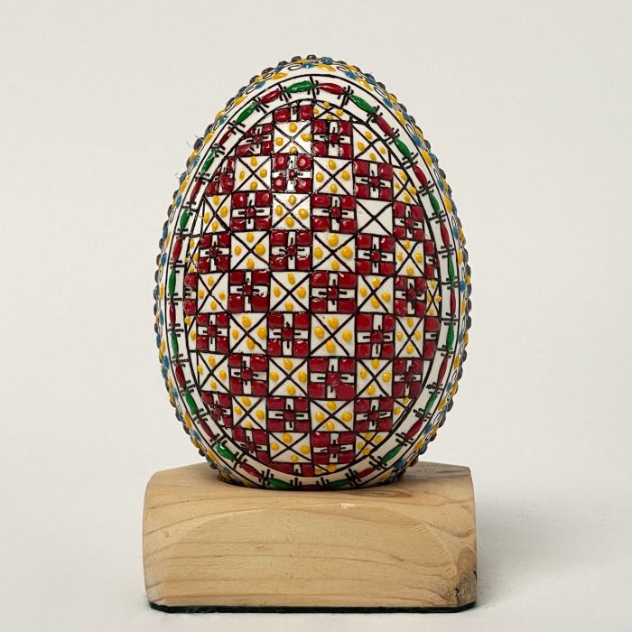 Ou de gâscă încondeiat model 7 0