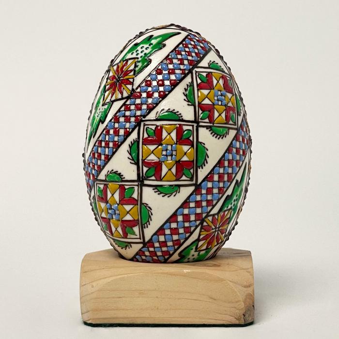 Ou de gâscă încondeiat model 9 [0]