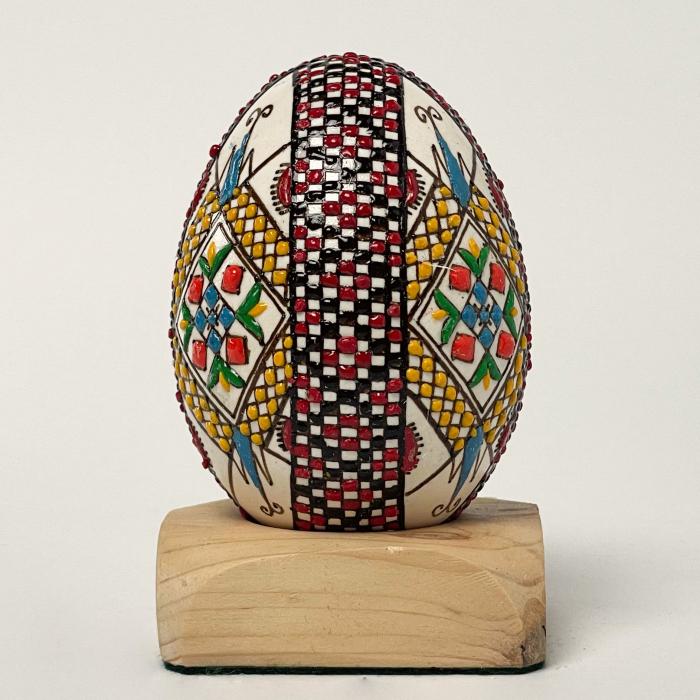 Ou de gâscă încondeiat model 10 1