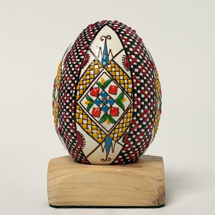 Ou de gâscă încondeiat model 10 0