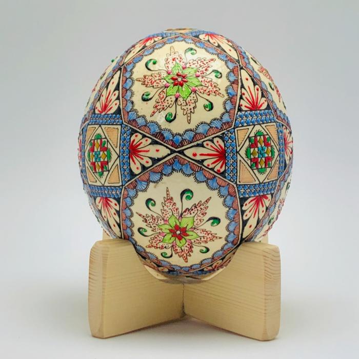 Ou de struț încondeiat model 2 1