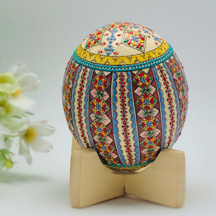 Ou de struț încondeiat model 4 [1]