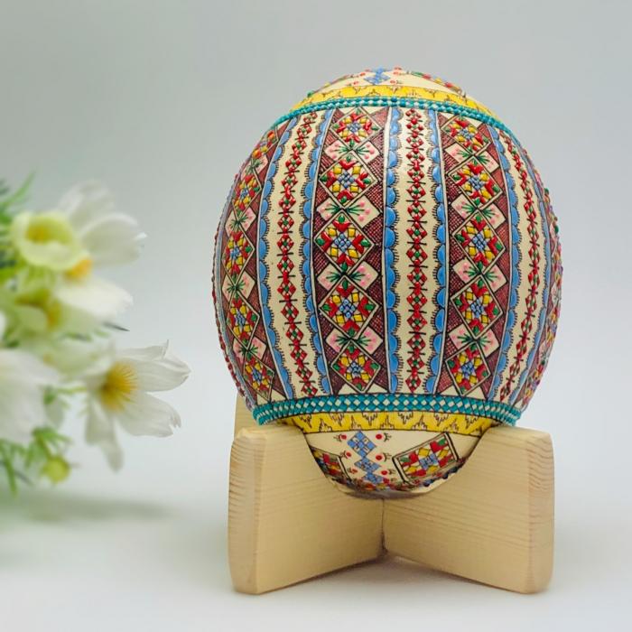 Ou de struț încondeiat model 4 [0]