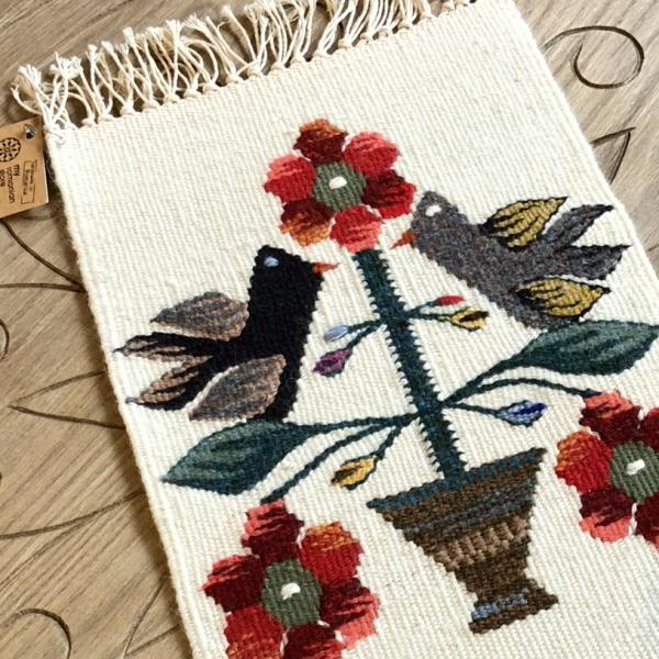 Carpetă 35x20 cm motiv pomul vieții colorat 2