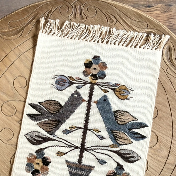 Carpetă 45x30 cm motiv pomul vieții nature 1