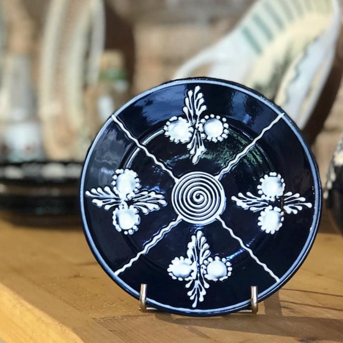 Farfurie albastră Ø 14 cm model 3 0