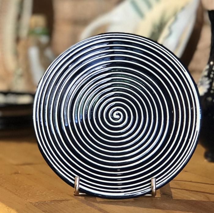 Farfurie albastră Ø 14 cm model 6 0