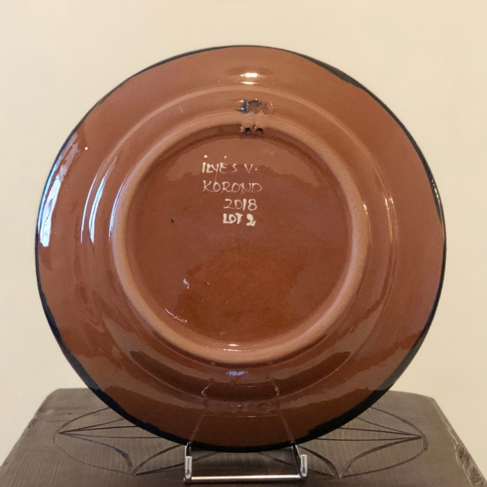 Farfurie albastră Ø 24 cm model 1 1