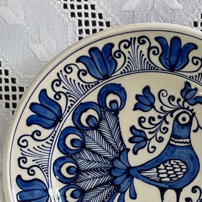 Farfurie alb-albastră Ø 20 cm model 11 [1]