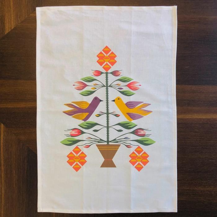 Șervet de bucătărie - Pomul Vieții 4