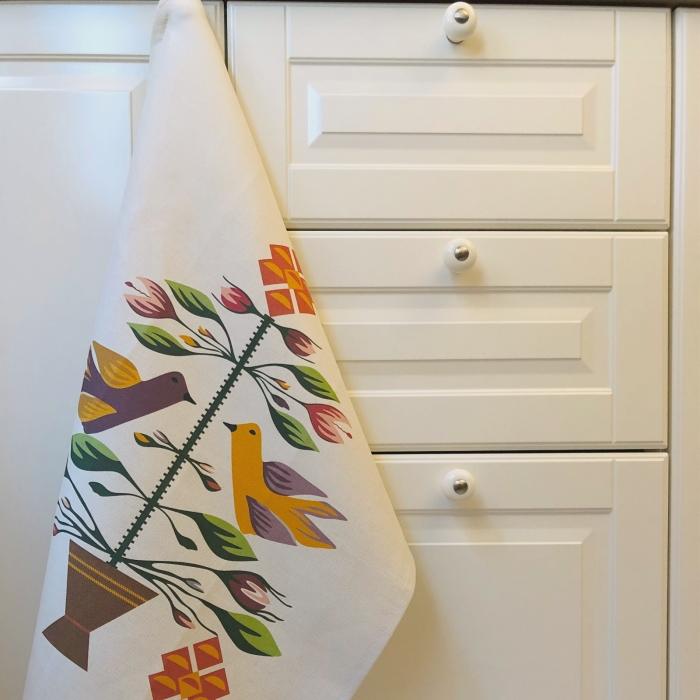 Șervet de bucătărie - Pomul Vieții 2