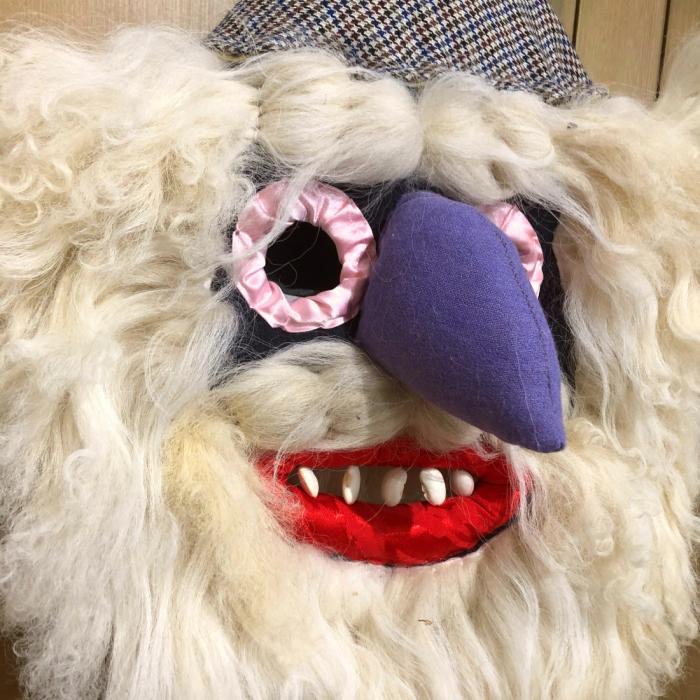 Mască decorativă tradițională model 1 6