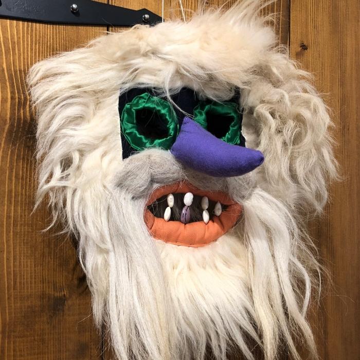 Mască decorativă tradițională model 1 1