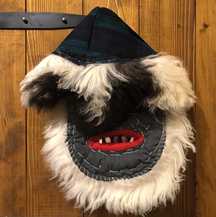 Mască decorativă tradițională model 4 4