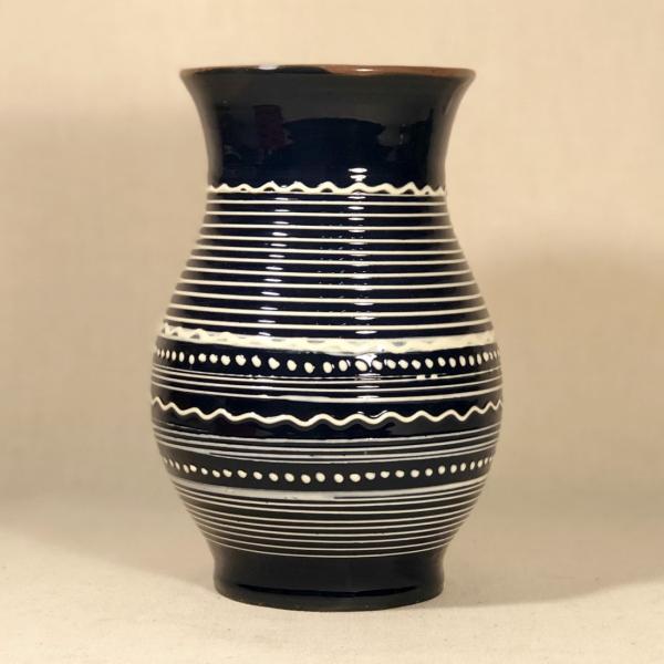 Vază albastră 20 cm model 2 1
