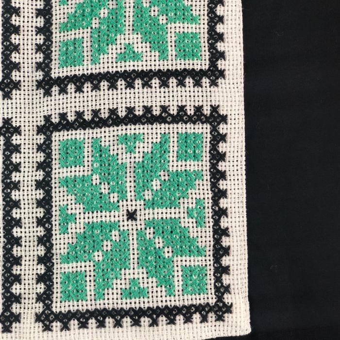 ZSTR - Tricou femei cu broderie tradițională chenar, mărime S 2