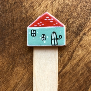 Semn de carte Little Houses model 11