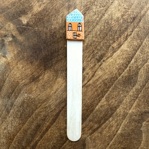 Semn de carte Little Houses model 71