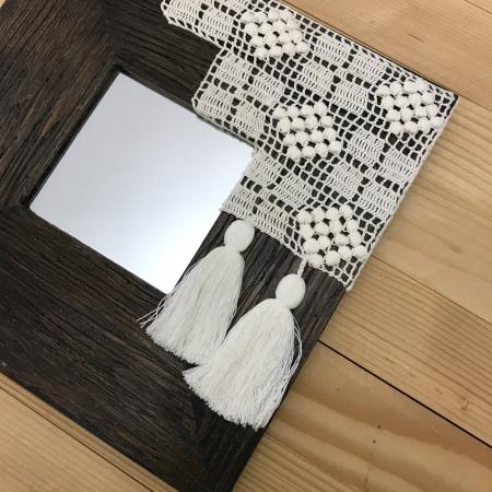 c u l c u ș - Tablou oglindă ramă pătrată4