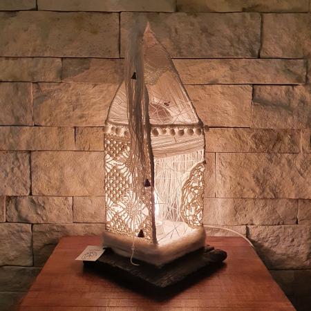 c u l c u ș - Căsuță lampă model 10