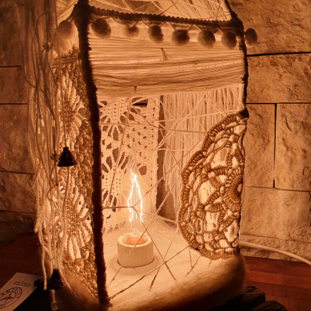 c u l c u ș - Căsuță lampă model 111