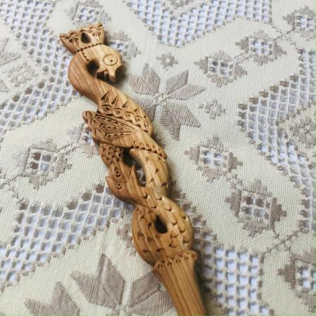 Lingură lemn cireș - Cercul Vieții [1]