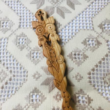 Lingură lemn cireș - Mirii 2 [1]
