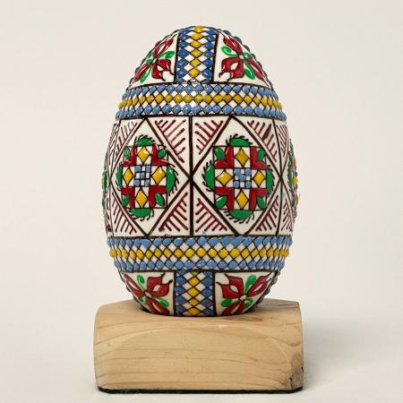 Ou de gâscă încondeiat model 1 [0]