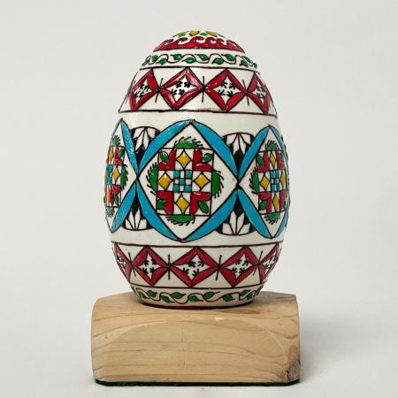 Ou de gâscă încondeiat model 130