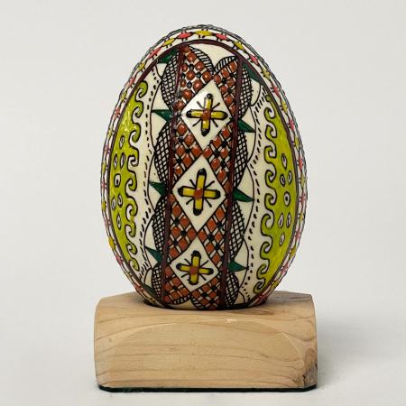 Ou de gâscă încondeiat model 170