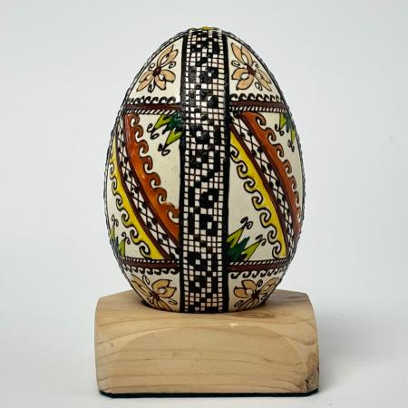 Ou de gâscă încondeiat model 190