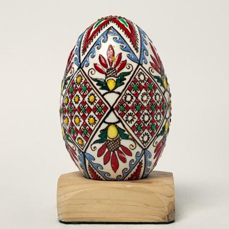 Ou de gâscă încondeiat model 40