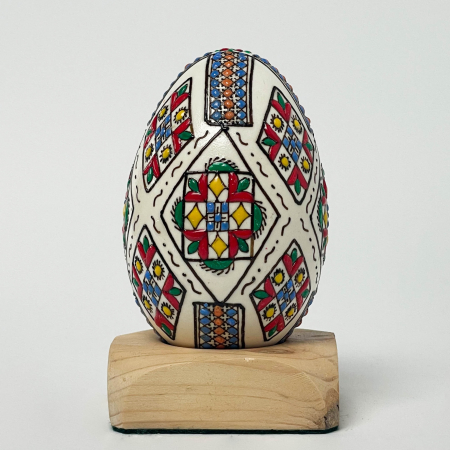 Ou de gâscă încondeiat model 50