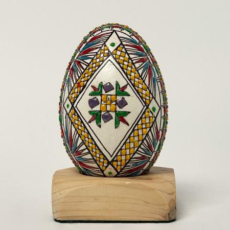 Ou de gâscă încondeiat model 60