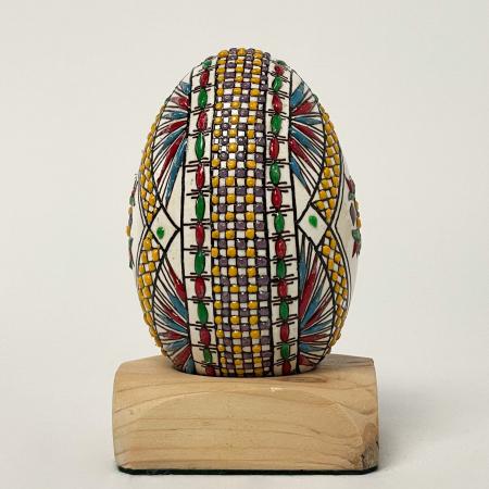 Ou de gâscă încondeiat model 61
