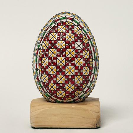 Ou de gâscă încondeiat model 70