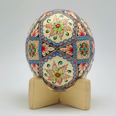 Ou de struț încondeiat model 21