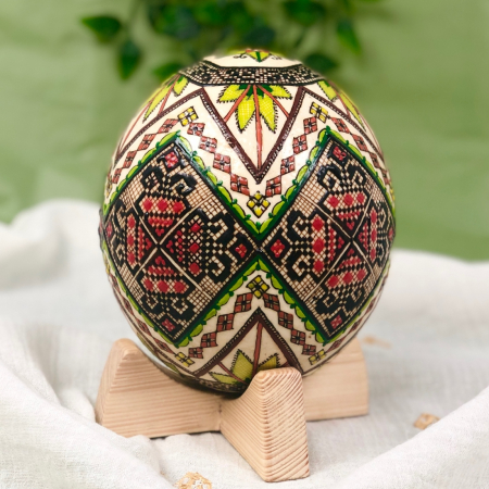 Ou de struț încondeiat model 30