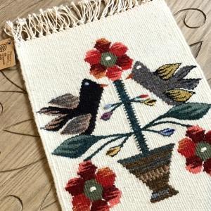 Carpetă 35x20 cm motiv pomul vieții colorat2