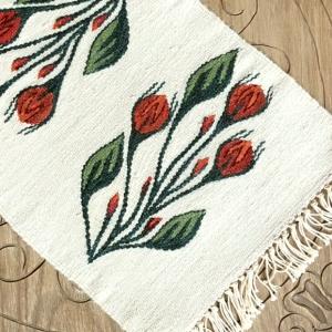 Carpetă 45x30 cm motiv boboci de trandafiri [1]